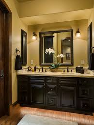 Houzz Rustic Bathrooms - dark master bath houzz