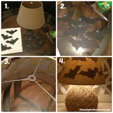 diy halloween lamp shade silhouettes the ladyprefers2save