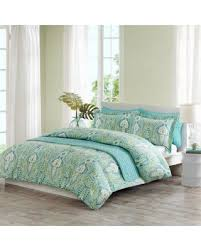 Echo Jaipur Comforter Amazing Deal Echo Design Kelly Paisley Full Queen Quilt Mini Set
