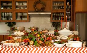 s corner creating the thanksgiving buffet