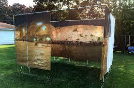 sukkah kits sale this panoramic sukkah re creates jerusalem in your backyard