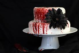 Halloween Chocolate Cake Recipe Red Velvet Slaughter Cake Yum And Yummer
