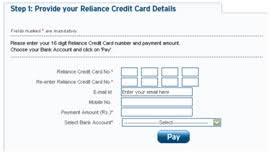 Sbi Cc Bill Desk Reliance Bill Desk All Payments At Single Location