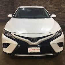 new 2018 toyota camry xse 4d sedan in mattoon t25055 kc summers