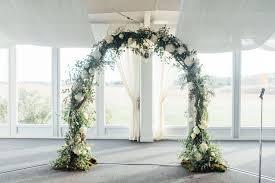 wedding arch kent kent manor inn wedding stevensville md matt caitlin