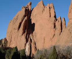 Garden Of The Gods Rock Formations The Geology Of The Colorado Springs Attractions Location