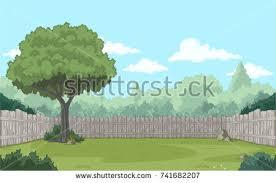 Backyard Fence Backyard Fence Stock Images Royalty Free Images U0026 Vectors