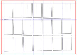 card business card template 10 per sheet