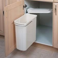Kitchen Cabinet Trash Can Kitchen Organization U2013 Swing Out Cabinet Trash Can U2013 Under Sink