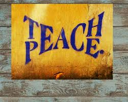 Spiritual Home Decor Teach Peace 6