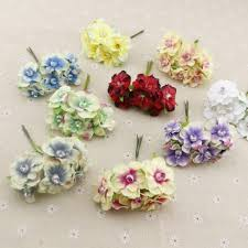 cheap silk flowers 6pcs pearl silk cheap artificial flowers garland wreaths for