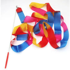 ribbon for hair that says gymnastics hot 4m most popular ribbon gymnastics dance dancer toys outdoor
