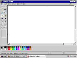paint software printing dos graphics with paint