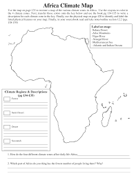 Map Worksheets Worksheets Climate Zones Worksheet Citysalvageanddesign Free