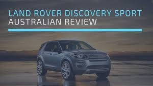 land rover australian land rover discovery sport review australia youtube