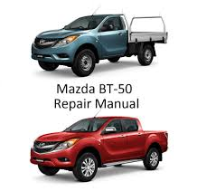 mazda bt50 b2200 series repair manual