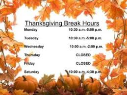 the bookworm educational supplies thanksgiving store hours