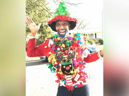 ugly christmas sweaters to get you in the holiday spirit abc news