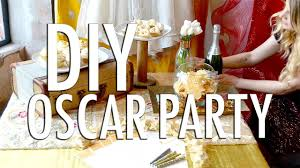 oscar party ideas diy oscar party