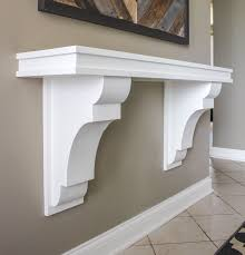 Buy Corbels I Made A Corbel Table I First Saw This Shanty 2 Chic Diy Console