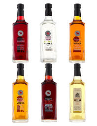 flavoured rums selection case of 6 m u0026s