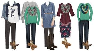 mix and match fall from target capsule wardrobe