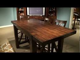 rectangle counter height dining table castlewood rectangular counter height dining table by riverside