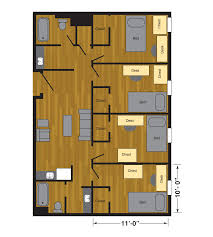 room floor plans murray hall halls housing ttu