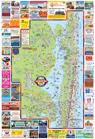 maryland map by city oceancity print png 1495460097