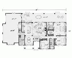 Country Homes Plans by Open Floor Plans For Single Story French Country Homes 3047 Sq Ft