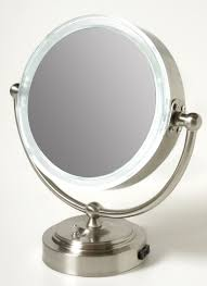 magnification mirror with light bathroom magnifying mirror with light lighting wall mounted 10x