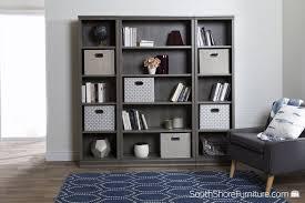 tall narrow bookcase oak south shore morgan 5 shelf narrow bookcase walmart canada