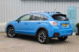 blue subaru crosstrek second hand subaru xv 2 0d se premium 5dr for sale in cambridge