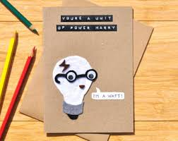 harry potter congratulations card science card etsy