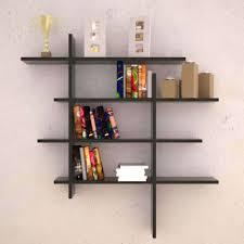 modern wall art book shelves diy corner shelf display cabinet book