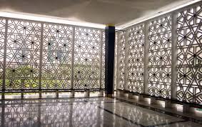 sydney mosque concrete jali pattern decorative concrete blocks