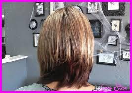 haircuts front and back views long layered bob haircuts back view livesstar com