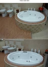 vasca da bagno circolare vasca da bagno idromassaggio da incasso circolare rotonda