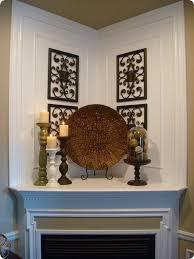 Ways To Decorate A Fireplace Mantel by Best 25 Corner Mantle Decor Ideas On Pinterest Corner Fireplace