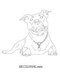 perfect pitbull coloring pages 34 for coloring pages for adults