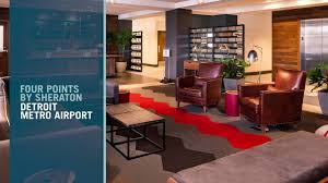 Metro Arena Floor Plan by Detroit Airport Hotel Four Points By Sheraton Detroit Metro Airport