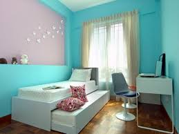 simple house interiors bedroom blue colour home combo