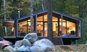 modern prefab cabin small modern cabin the best modular cabins ideas on small modern