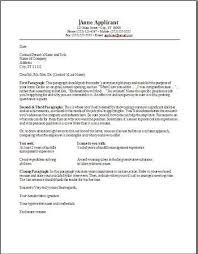 cover letter for resume free examples of professional cover