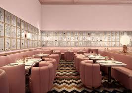 shrigley lines sketch restaurant u0027s pink walls with 239 original
