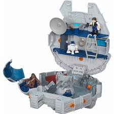 playskool heroes star wars galactic heroes millennium falcon and