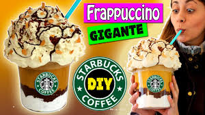 caja frappuccino gigante starbucks ideas para decorar o regalar