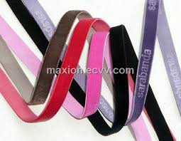 customized ribbon elastic velvet ribbon purchasing souring ecvv