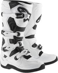 motocross boots alpinestars alpinestars tech 5 white offroad dirt bike motocross boots jt s cycles