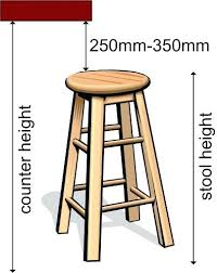 bar stool difference between counter height and bar height